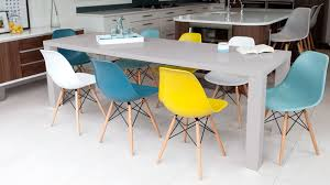 eames style chairs uk. large extending grey gloss dining table and coloured chairs eames style uk