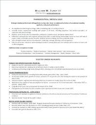 Medical Sales Resume Examples Amazing Pharmaceutical Sales Representative Resume Examples Rep Letsdeliverco