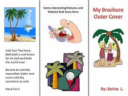 Teacher Brochure Example Trifold Brochure Sjl Teacher Professional Development