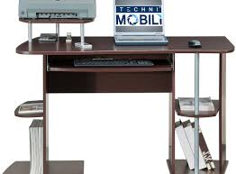full size of desk techni mobili computer desk instructions espresso black awesome roll away
