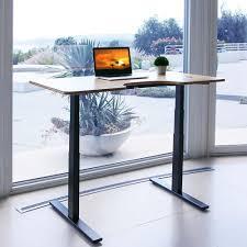 Diy adjustable standing desk Build Autonomous Smartdesk Heightadjustable Standing Desk Dual Motor Diy Black Frame Bisonoffice Autonomous Smartdesk Heightadjustable Standing Desk