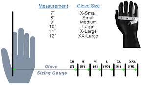 Glove Wrist Support Sizing Help
