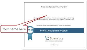 The Psm Certification Www Oliverlehmann Com