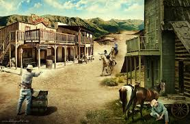 old wild west paintings