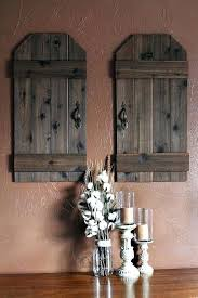 rustic shutter wall decor wood shutter wall decor rustic barn wood doors mini barn doors wood rustic shutter wall decor