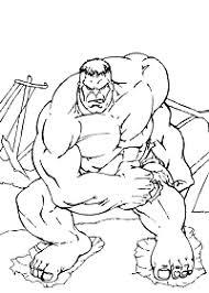 Hulk Lincredibile Hulk Da Colorare E Stampare Gratis