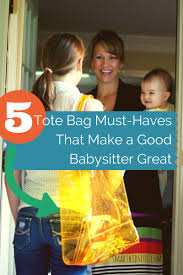 Pictures Of Babysitting 5 Babysitter Tote Bag Must Haves That Will Make You Great Smart