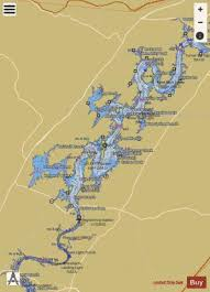 Tennessee River Navigation Charts Tennessee River Mile 518 To Mile 564 Marine Chart