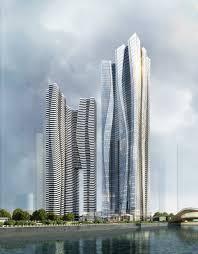 Aedas Cloud Inspired Mixed Use Building Chengdu