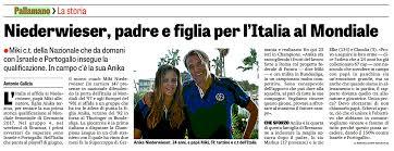 Qual. Mondiali | Italia: a Siracusa due finali contro Israele e Portogallo