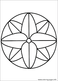 Best Of Simple Mandala Coloring Pages Or Abstract Coloring Pages