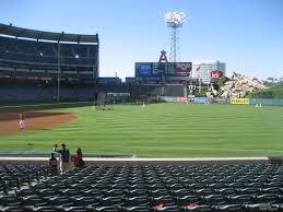 Anaheim Angels Stadium Seating Chart Angel Stadium Section 128 Rateyourseats Com