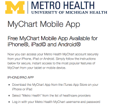 Metro My Chart Sign In Www Metrohealth Net Mychart Mychart Metrohealth