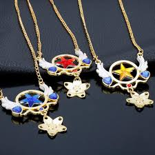 2019 dongsheng anime sailor moon jewelry star heart wings charm necklaces pendants enamel crystal stars wings choker necklace 30 from chuancai