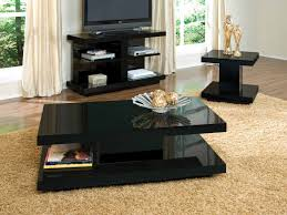 black coffee table sets creative