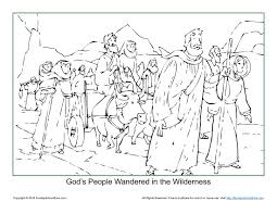 Coloring Pages For Kids Moses With Premium Thanksgiving Moses
