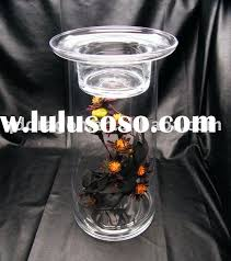 glass vase candle