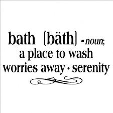 Bath Quotes Magnificent Bath A Place To Wash All Worries Awayquote [House48Home
