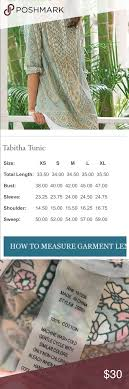 Soft Surroundings Size Chart Soft Surroundings Tabitha Tunic In Excellent Condition Size