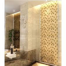 glazeb porcelain glass tile wall backsplash crystal art pattern design mosaic tiles plated mirror