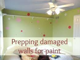 preparing interior walls for painting