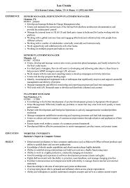 Platform Manager Resume Samples Velvet Jobs