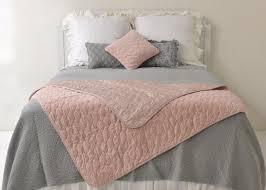 Throw Blanket - Rose Velvet Quilted Large Decorative Throw Blanket ... & ... Velvet Quilted Throw Blanket with Satin Back in HEIRLOOM ROSE - Bella  Notte Linens Outlet ... Adamdwight.com