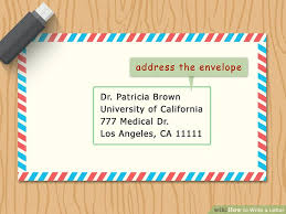 How To Write A Letter Wikihow