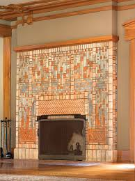 batchelder tile fireplace in the james allen freeman house for a much bigger house but crazy beautiful