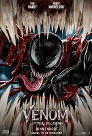 Let There Be Carnage poster op MoviePulp