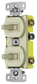 Hubbell Single Pole Switch Wiring Diagram Single Light Switch Wiring