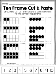 10 frame template makin ten lessons tes teach