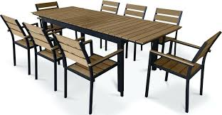 polywood outdoor dining set urban furnishing 9 piece outdoor patio dining set polywood outdoor dining furniture