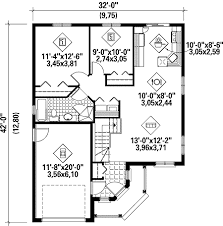 house plans one story. Beautiful Story Simple OneStory Home Plan  80624PM Floor Plan Main Level To House Plans One Story L