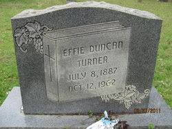 Effie Duncan Turner (1887-1962) - Find A Grave Memorial