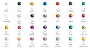 Pearl Color Chart Daily Art Liquid Pearls