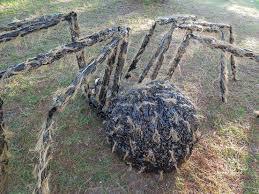 Outdoor Halloween Props Halloween Giant Gnarly Hairy Spider Halloween Pinterest