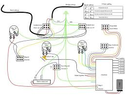 fly deluxe with p rails and rmc project Parker Guitars Wiring Diagrams it is based on the wiring of brian moore's iguitar's, but taking out tone control, adding piezo mag switching control and p rails splitting parker guitar wiring diagram