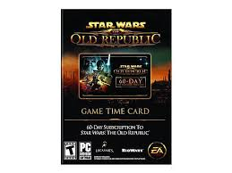 Timecard Ca Star Wars Old Republic 60 Day Prepaid Time Card Pc Game Newegg Ca