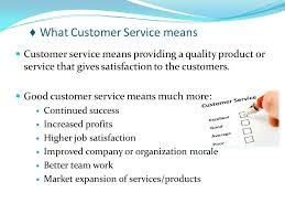 Great Customer Service Means Customer Service Training Motivation Ppt Video Online