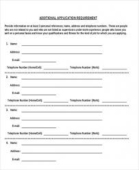 who to list as a reference download now how to list references for a job job reference sheet