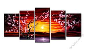 plum tree blossom modern canvas art wall decor floral canvas prints wall art on plum flower canvas wall art with plum tree blossom modern canvas art wall decor floral canvas prints