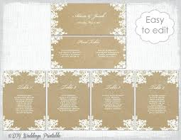view larger wedding round table seating chart template