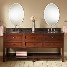 Bamboo Bathroom Sink 72 Taren Bamboo Double Vanity For Undermount Sink Light