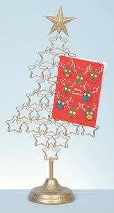 Free Standing Christmas Card Holder Display Metal 100cm Christmas Tree Card Holder Xmas Freestanding Display 1