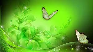 Green Floral Fantasy HD desktop ...