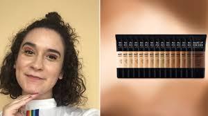 make up for ever matte velvet skin foundation is perfect for oily acne e skin allure