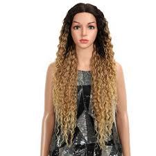<b>MAGIC Hair</b> Kinky Curly Glueless High Temperature Fiber <b>Hair</b> 32 ...