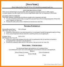 Examples Of Lpn Resumes 7 Lpn Resume Examples Letter Setup