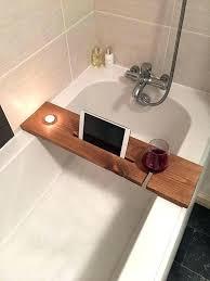 bath tub caddy bath wine glass holder bathtub bud bath tray with candle tablet bathtub with bath tub caddy